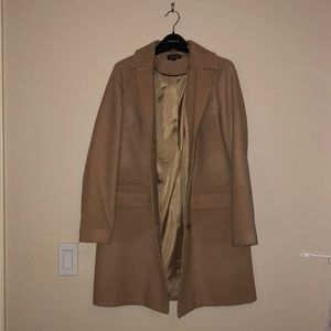 Topshop Camel Pea Coat